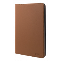 """Universal tablet case DELTACO 7/8 """", integrated stand, 360 degree rotatable, brown / TPF-1226"""