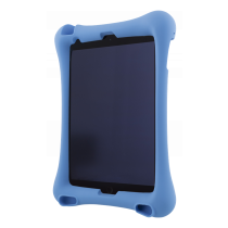 """DELTACO Silicone Case for 10.2 """"-10.5"""" iPads, Stand, Blue / TPF-1308"""