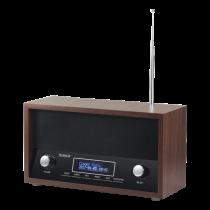 Technaxx Nostalgia DAB + / FM Stereo Radio TX-95, DAB + Band III 174-240MHz, FM 87.5 - 108MHz, frame in wood, brown / Trendgeek-04