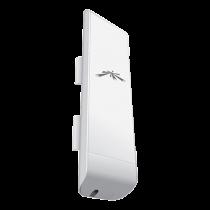 Ubiquiti NanoStaionM NSM5, Outdoor Access Point, PoE, 5GHz, 150+ Mbps, up to 15km, white NSM5  / UBI-NSM5