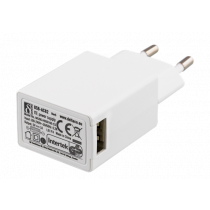 Phone charger DELTACO 100-240V, 1A / USB-AC82