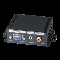 VGA and stereo / digital audio to HDMI converter, 1920x1200 in 60Hz, black / VH01E