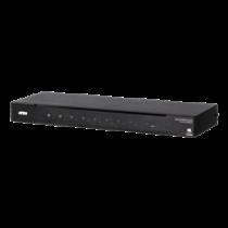 ATEN 4K HDMI Switch, 8 ports, RS-232, audio switch, IR, black / VS0801HB-AT-G