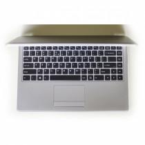 Notebook Nuklonas  WorkBook U8140 Grey / 158106984212713581