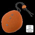 STREETZ Waterproof Bluetooth Speaker, Fabric Design, IPX5, TWS, Bluetooth 4.2, 1x6W, Orange / CM751