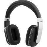 Headphones STREETZ with microphone, folding, black / HL-239