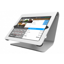 Holder Maclocks Nollie iPad Mini, cable feed, rise pole, white / 260NPOSW