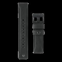 UAG Samsung Galaxy Watch, 46 мм, кожаный ремешок, черный