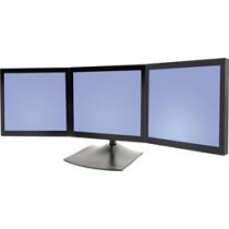 Ergotron DS100 table stand for 3 monitors horizontally 35-3504 / 33-323-200