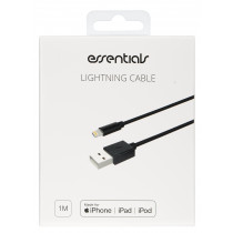 Cable Essentials Lightning MFI-USB-A, 1m, black / 387924