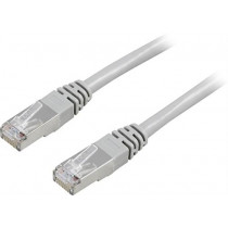Cable DELTACO F / UTP, Cat5e, 7m, 100MHz, gray / 7-STP