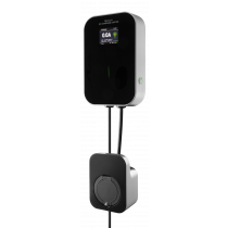 DELTACO e-Charge, Wallbox, 1 фаза, 6-16 А, режим 3, тип 2