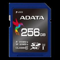 ADATA Premier Pro SDXC UHS-I card, U3, 256gb, class 10, ASDX256GUI3CL10-R / ADATA-183