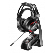 Gaming headset A-DATA XPG SOLOX F30+EMIX H30, 7.1 amplifier, black / ADATA-378