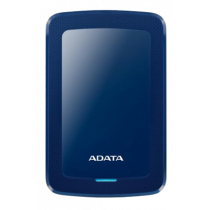 ADATA 2TB External Hard Drive, 10.3mm, USB 3.1, Quick Start, Blue AHV300-2TU31-CBL  / ADATA-434