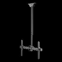 """DELTACO OFFICE Телескопическое поворотное потолочное крепление LED / LCD, 37-70 """", 1"""