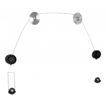 """DELTACO, ультратонкая стенка для картин, 37 """"-70"""", 50 кг, 100x100-800x800"""