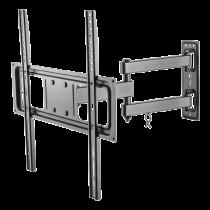"""DELTACO, полнофункциональная трехсторонняя стена, 32 """"-55"""", 35 кг, 200x200-400x400"""