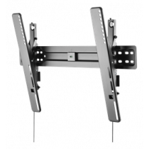 "DELTACO Slim TV / Monitor Wall Mount, 37 ""-70"", Tiltable, 3.1 cm Profile, Water Pass, VESA, Black / ARM-469"