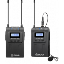 Single-Channel Wireless Microphone, 48 Channels, 6 Hour Battery BOYA / BOYA10079