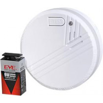 Nexa KD-134A, Smoke detector with long lasting battery for 10 years, 85dB at 3m, white BV-107 / 13315