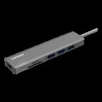 Lenovo C107 USB-C to HDMI adapter, 20V 3.5A, HDMI 2.0 4096x2160 30Hz, gray C110-GRAY / C110