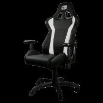 Gaming chair COOLER MASTER Caliber R1, white / CMI-GCR1-2019W