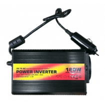 180W Modified sine wave inverter, 220-240V DELTACOIMP black / CAR201-TUV