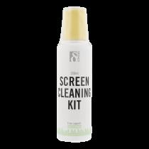 Набор для чистки DELTACO, для чистки экранов, салфетка из микрофибры, 25