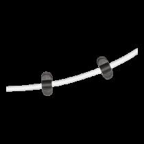 Cable holder DELTACO 6-pack, black / CM514