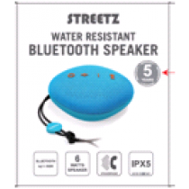 Wireless speaker STREETZ IPX, Bluetooth 4.2, 1x6W, blue / CM752