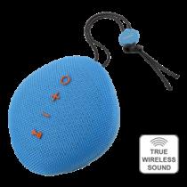 STREETZ Waterproof Bluetooth Speaker, IPX5, TWS, Bluetooth 4.2, 1x6W, Blue / CM752