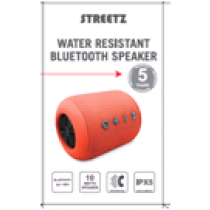 Water resistant speaker STREETZ orange / CM757