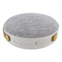 Speaker STREETZ waterproof, Bluetooth, 8W, white/grey / CM760