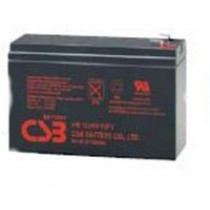 Lead acid battery 12V 6.4Ah -F1, +F2 Pb CSB  CSB-HR1224