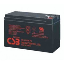 Lead acid battery 12V 9Ah 34W Pb CSB  CSB-HR1234WF2