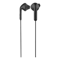 Earphone DeFunc Go HYBRID, black / D0141