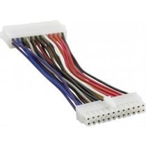 Cable DELTACO extension cable EP/ ATX12V ver 2.0 PSU - Motherboards, 15cm / DEL-115D