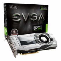 Graphics card EVGA GTX 1080 8GB Founders Edition 8GB GDDR5X 08G-P4-6180-KR / DEL1008209