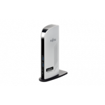 FUJITSU USB 3.0 Port Replicator PR08, DisplayPort, USB 3.1, HDCP, white S26391-F6007-L400  / DEL1009023