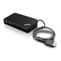 Lenovo ThinkPad OneLink + Dock, USB-A 3.1 Gen 1 dock / port replicator Lenovo black / DEL1009950
