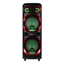 "NGS Wildska2 800W DOUBLE12"" WOOFER SPEAKER USB/MICRO SD/BT(TWS)/AUX IN"