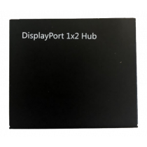 DisplayPort Splitter, 2x DP Outputs, 4K, 3D, DP 1.2, Black  /DP-913