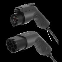 DELTACO EV-кабель тип 2 - тип 1, 1 фаза, 16А, 3М