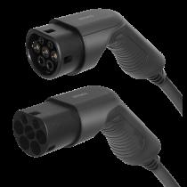 DELTACO EV-кабель тип 2 - тип 2, 3 фазы, 32А, 7М