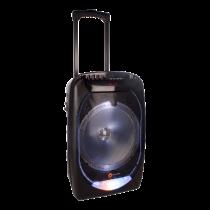 N-GEAR FLASH 1210 portable speaker, 300W, Bluetooth 4, black / purple / FLASH-1210
