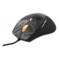 DELTACO GAMING mouse with cable, black / GAM-013