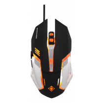DELTACO GAMING mouse, 1.5m cable, black  / GAM-020