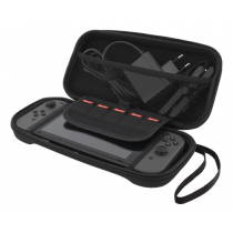 DELTACO GAMING Nintendo Switch Hard carry case, space for 5 games, black / GAM-033