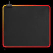 Коврик для мыши DELTACO GAMING RGB, 45x40см, 6xRGB, 7xStatic, бла